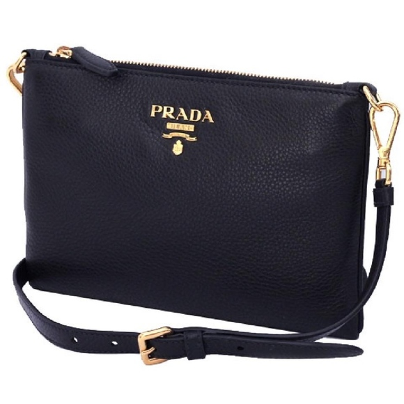 11a2a663aa1c Prada Bags | Vitello Phenix Bandoliera Leather Crossbody | Poshmark